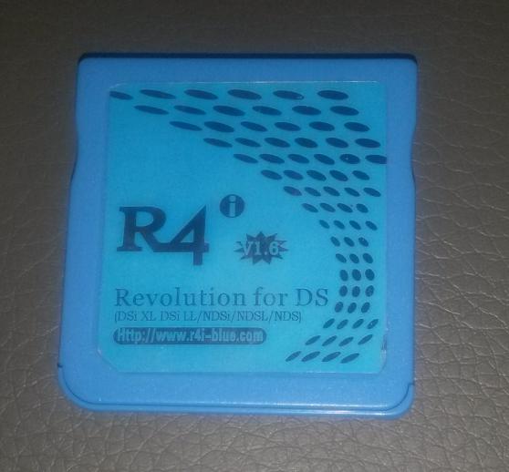 Linker r4i blue pour DSi (v1.6) bloqué