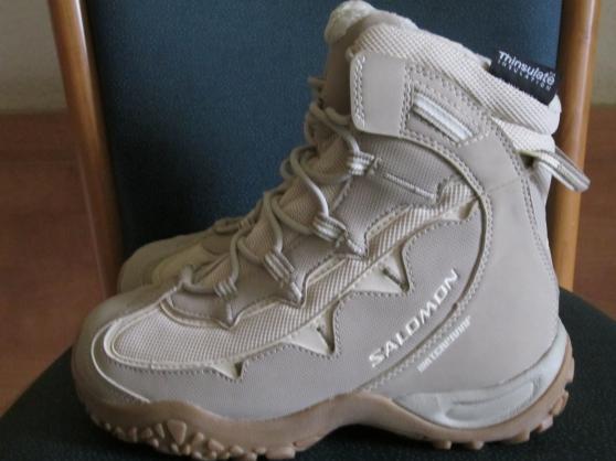 Annonce occasion, vente ou achat 'Chaussures randonnée hiver SALOMON femme'