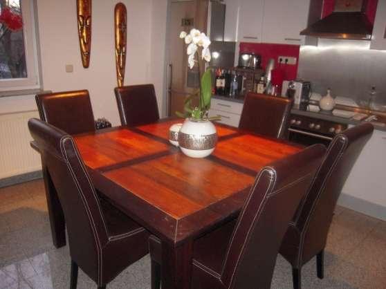 Table bois massif Bois & Chiffons MEUBLES - DÉCORATION TABLES à ...
