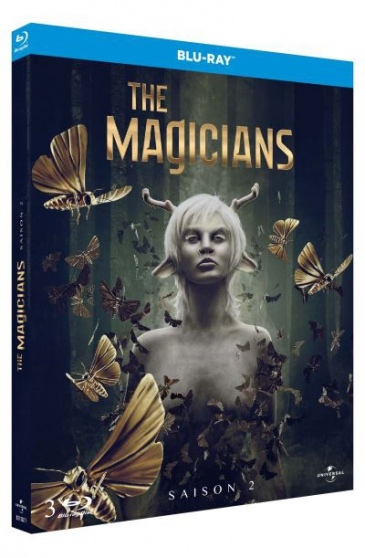 "Petite Annonce : Blu-ray le coffret ""the magicians saison - Blu-ray Le coffret \""The Magicians Saison 2\"" 
