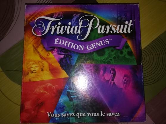 Annonce occasion, vente ou achat 'Trivial Pursuit GENUS'