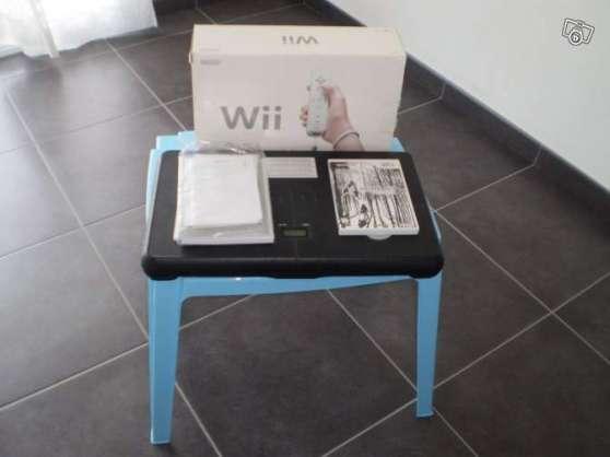 Wii avec balance board et 63 jeux