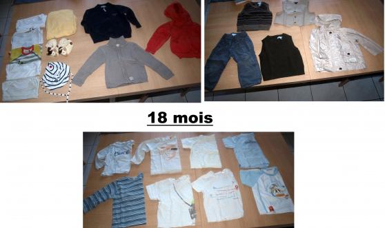 Annonce occasion, vente ou achat 'A SAISIR:lots vêtement enfant:PETIT PRIX'