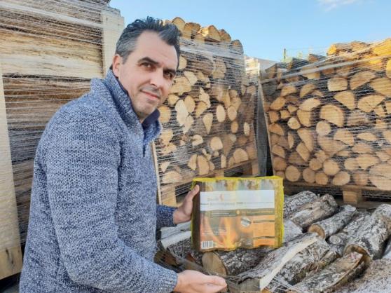 Promo de bois de chauffage a 40€ 100% se