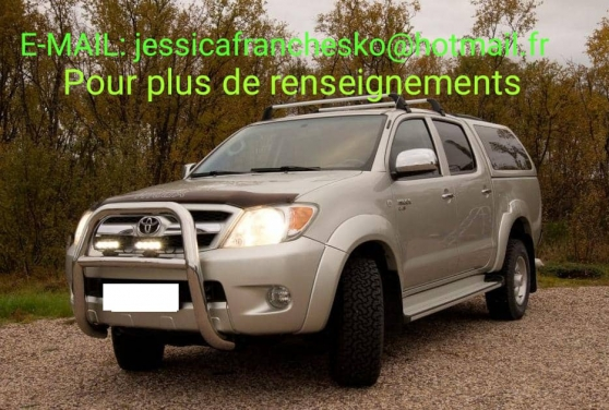 Annonce occasion, vente ou achat 'Toyota Hilux SR5 4x4 double Cabine'