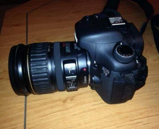 Annonce occasion, vente ou achat 'apareil photo reflex canon 7d'
