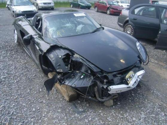 Porsche Carrera GT avec dommage