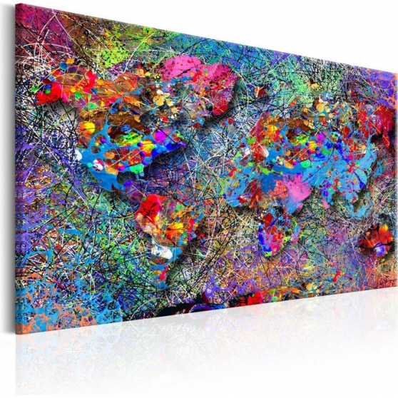 Tableau Map jackson pollock Inspiration