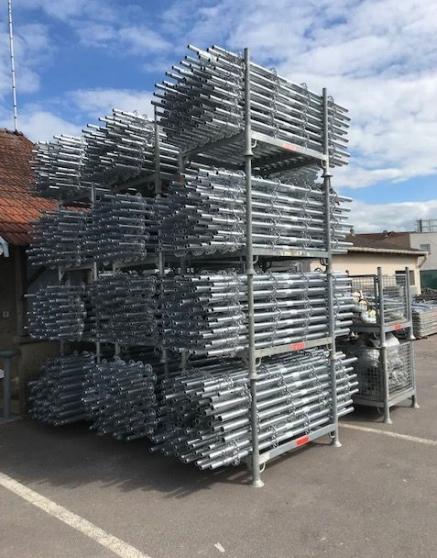 Echafaudage pour toiture et façade neuf