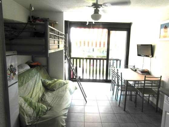 appartement studio dans résidence avec p