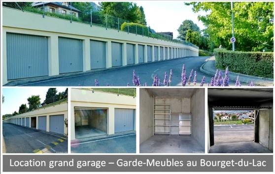 Loue grands garages au Bourget-du-Lac - Photo 2