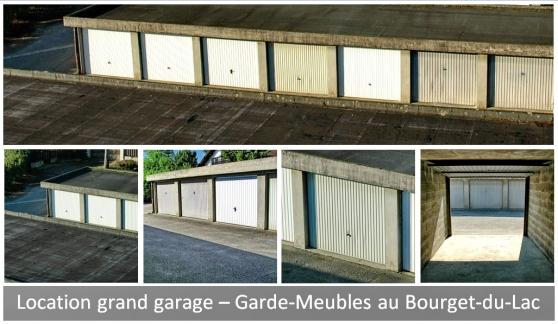 Loue grands garages au Bourget-du-Lac - Photo 3