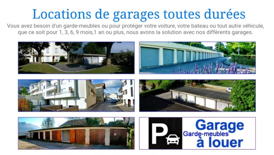 Loue grands garages au Bourget-du-Lac - Photo 4