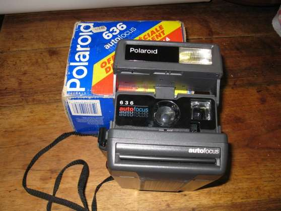 Annonce occasion, vente ou achat 'Appareil photo Polaroid 636 autofocus'
