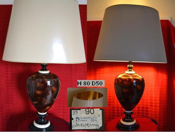 Lampe bureau francaise LE DAUPHIN