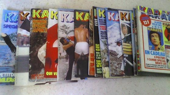 Annonce occasion, vente ou achat 'Magazines Karaté 1975/1979'