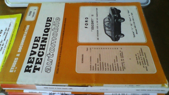 RTA E.T.A.I. Renault 21 Ford Escort2
