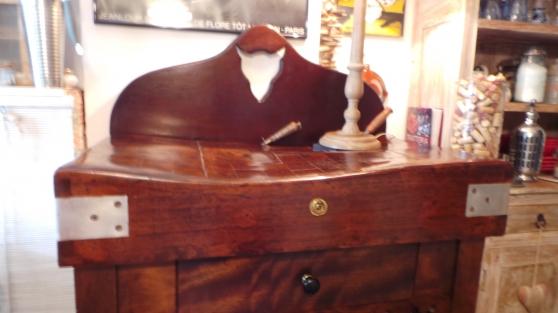billot de boucher ancien excellent tat antiquit art brocantes meubles anciens. Black Bedroom Furniture Sets. Home Design Ideas