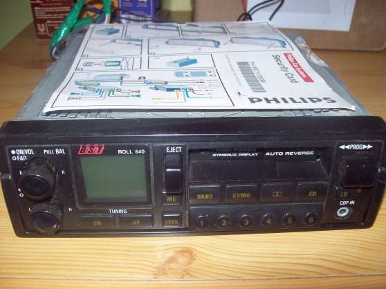 Auto radio cassette power.
