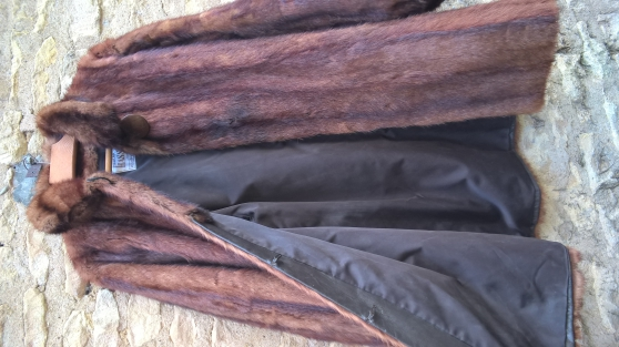 Manteau en Murmel (marmotte)