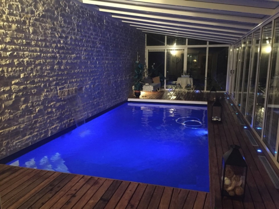 Fontainebleau maison piscine int rieure immobilier a for Achat maison fontainebleau