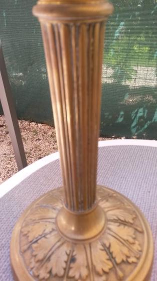 Bougeoir en laiton et bronze - Photo 4