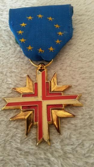 médaille confédération européenne