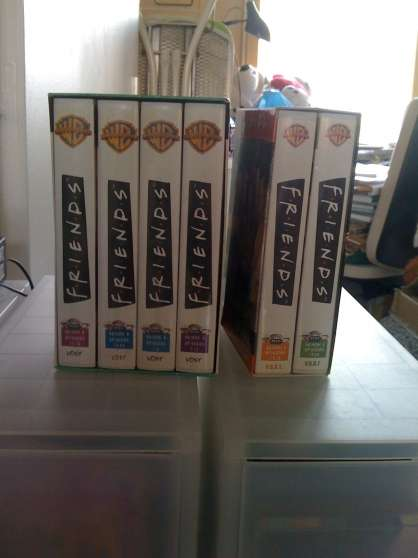 cassettes video de séries