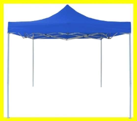 barnum pliant 1er prix bleu 3x3m sscotes jardin nature. Black Bedroom Furniture Sets. Home Design Ideas
