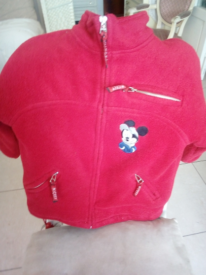 Manteau Mickey 2 ans fille ou garçon. - Photo 1