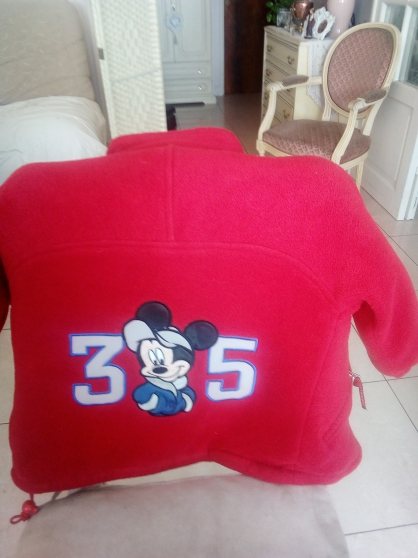 Manteau Mickey 2 ans fille ou garçon. - Photo 2