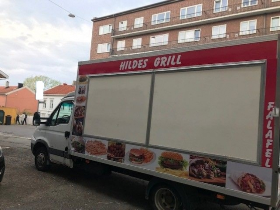 camion IVECO snack friterie