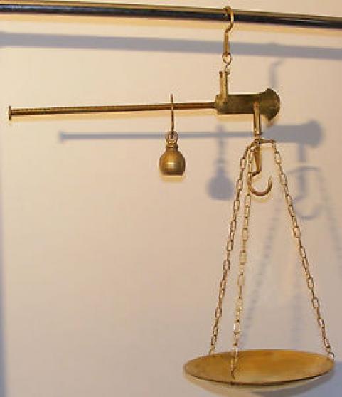 Annonce occasion, vente ou achat 'Balance romaine'