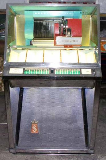 Annonce occasion, vente ou achat 'Jukebox Seeburg 101 1957 juke'