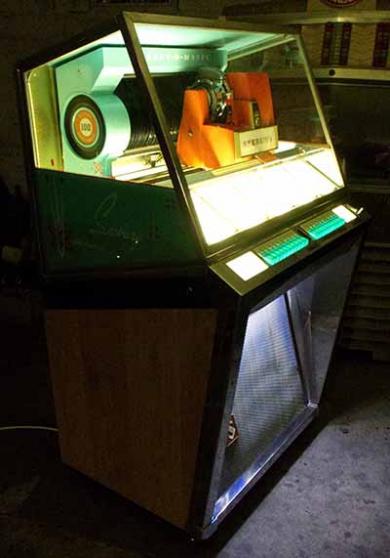 Jukebox Seeburg 101 1957 juke - Photo 3
