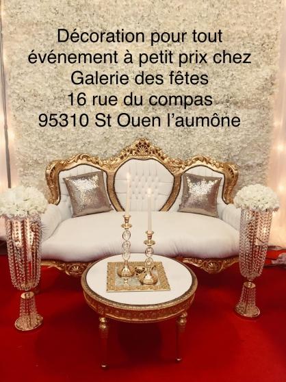 Annonce occasion, vente ou achat 'Décoration de mariage baptême baby showe'