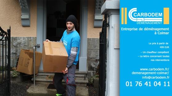 Annonce occasion, vente ou achat 'CARBODEM – Entreprise de déménagement'