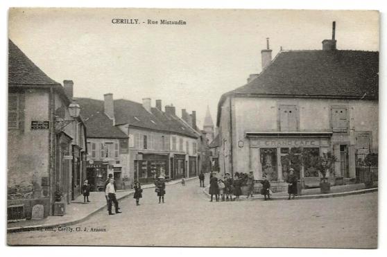 CERILLY (03) - Rue Mistaudin