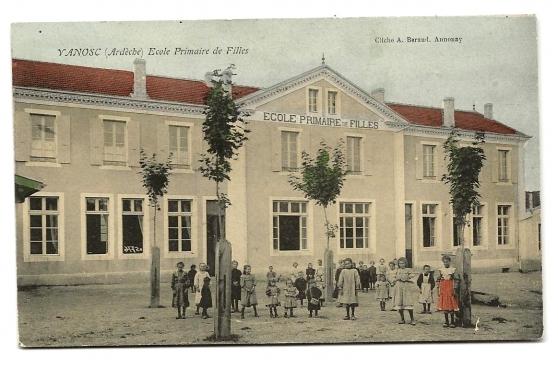VANOSC (07) - Ecole Primaire de Filles