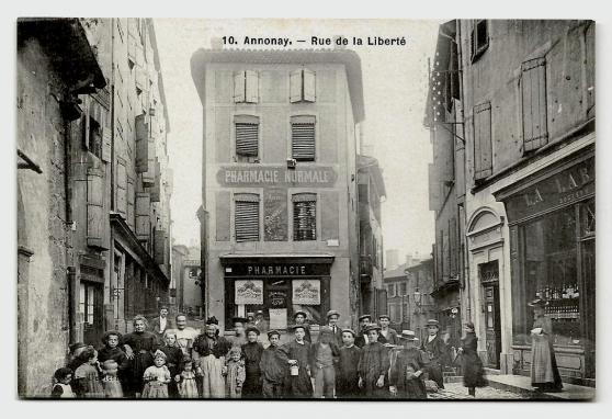 ANNONAY (07) - Rue de La Liberté (animé)