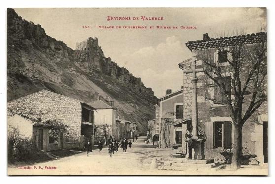 Village de Guilherand et Ruines de......