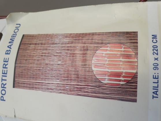 Annonce occasion, vente ou achat 'Rideaux de porte perles 90 x 220 cm'