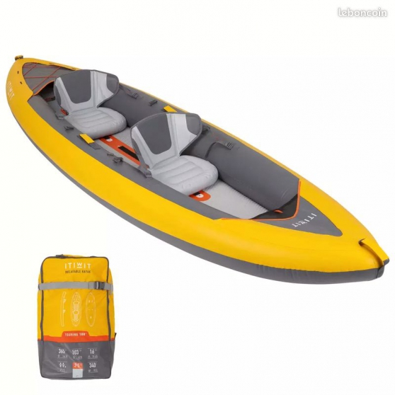 Annonce occasion, vente ou achat 'CANOE KAYAK GONFLABLE - 2 PERSONNES'