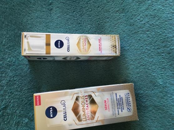 Annonce occasion, vente ou achat 'serum et le soin de jour nivea'