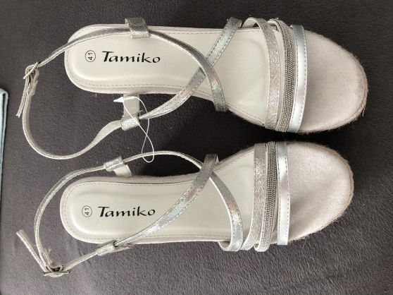 Annonce occasion, vente ou achat 'P41: Sandales compensées NEUVES'