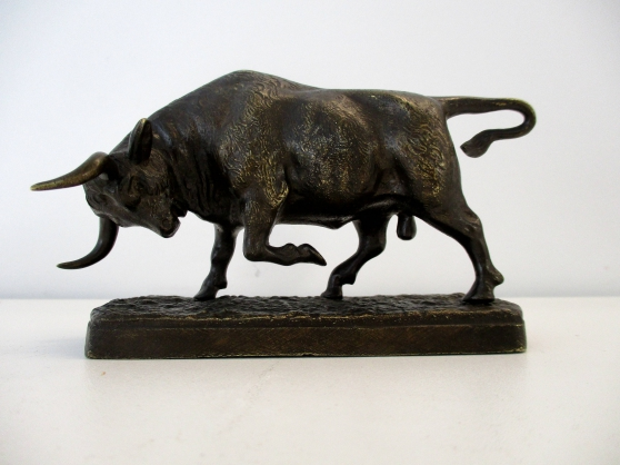 Taureau en Bronze France XIXème