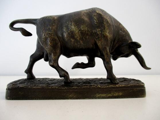 Taureau en Bronze France XIXème - Photo 4