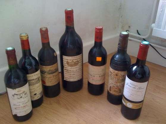 Lot 7 Bouteille de Vin