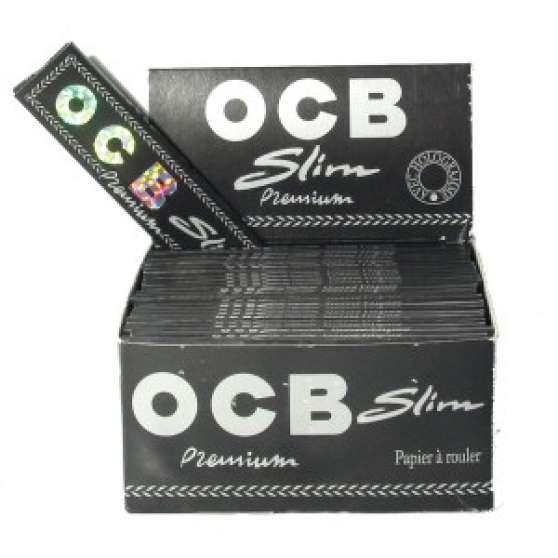 50 paquets d'OCB slim en une boite neuve