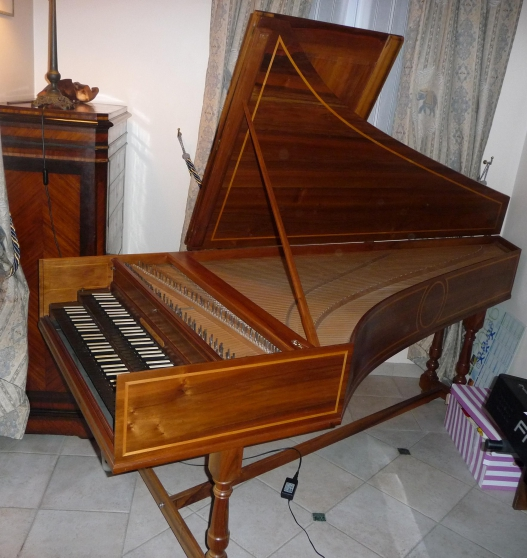vend clavecin flamand fab jacques braux musique instruments clavecins clamart reference. Black Bedroom Furniture Sets. Home Design Ideas